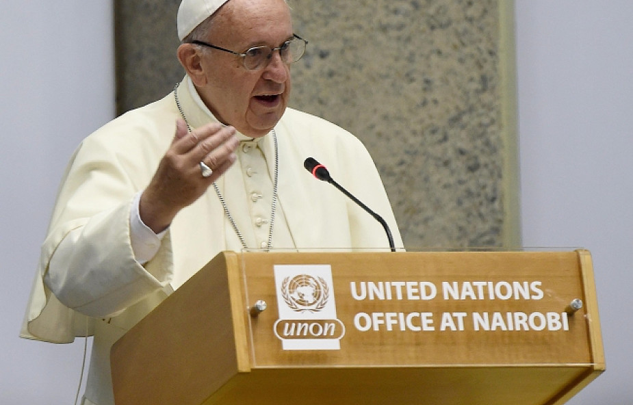 """Papież: wielkie """"Nie"""" dla globalizacji obojętności"""