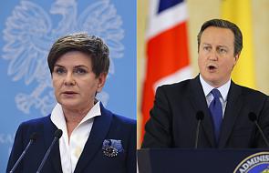 Trwają rozmowy premier z szefem brytyjskiego rządu