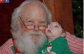 Nie dawali mu szans na przeżycie. Teraz spotkał św. Mikołaja