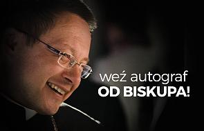 Chcesz autograf od biskupa Rysia? Jest okazja!