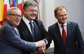Poroszenko: umowa UE-Ukraina wejdzie w życie