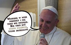 10 myśli papieża Franciszka o starszych osobach