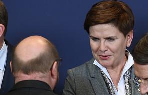 """""""Dobrze, że doszło do rozmowy z Schulzem"""""""