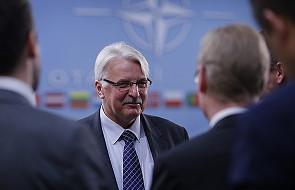 Waszczykowski: polskie wsparcie koalicji przeciwko IS