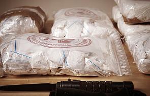 Policja przechwyciła rekordowy transport kokainy