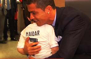 Szlachetny gest Ronaldo wobec 3-letniego chłopca [WIDEO]