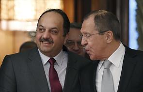 Syria: Rosja i Katar za współpracą opozycji z rządem