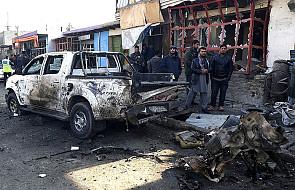 Kabul: wybuch samochodu-pułapki na lotnisku