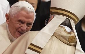 Benedykt XVI obecny na konsystorzu