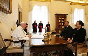 Papież przyjął na audiencji Króla Tonga