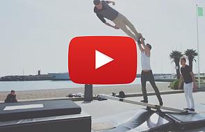 Te akrobacje was zachwycą [VIDEO]