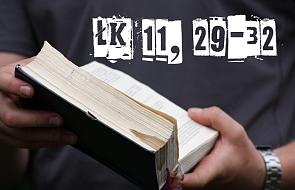 90 sekund z Ewangelią - Łk: 11, 29-32 [VIDEO]