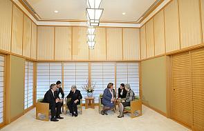 Para prezydencka u japońskiej pary cesarskiej
