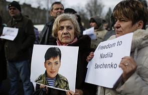 UE wzywa do uwolnienia Nadii Sawczenko