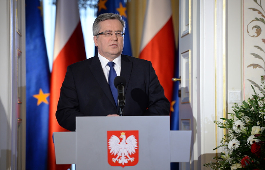 Bronisław Komorowski wystartuje w wyborach