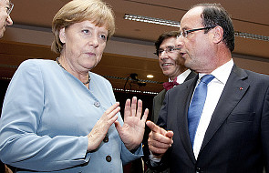 Merkel i Hollande na spotkaniu z Poroszenką