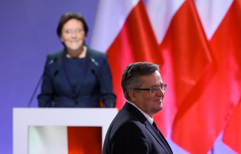 PO poparła kandydaturę Komorowskiego