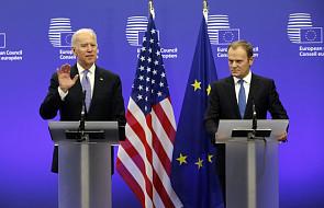 Tusk i Biden: UE i USA muszą utrzymywać presję