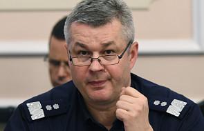 Komendant główny policji odchodzi ze służby