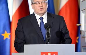 Prezydent o konstytucyjności konwencji