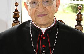 96-letni abp. Pimiento otrzymał biret kardynalski