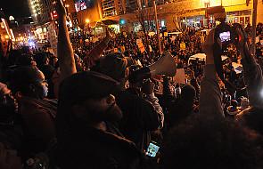 Manifestacja w Ferguson po dymisji szefa policji