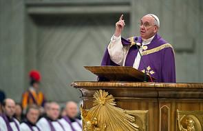 Franciszek odprawił nabożeństwo pokutne