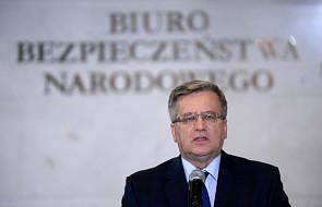 Komorowski kontaktował się z podejrzanym o defraudację w SKOK?