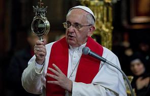 """""""Cud św. Januarego"""" w obecności papieża"""