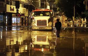Chile: ulewne deszcze na pustynnej północy