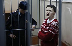 Nadija Sawczenko złagodziła protest głodowy