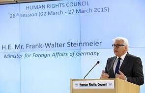 Steinmeier przeciwny izolowaniu Rosji