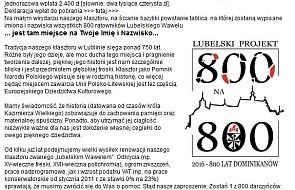 Logo dominikanów na Jubileusz 800-lecia