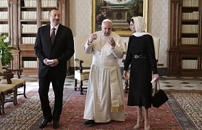 Papież przyjął prezydenta Azerbejdżanu