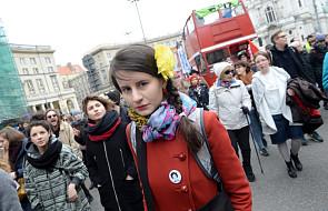 Rozpoczęła się demonstracja z okazji Dnia Kobiet