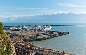 Rosyjskie okręty wojenne w Kanale La Manche