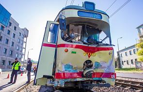 Wypadek tramwajów w Poznaniu, są ranni