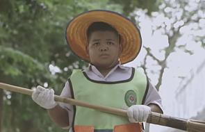 Chłopiec, który chciał zostać sprzątaczem