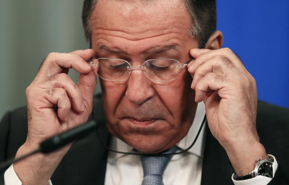 Ławrow: nie wolno dzielić Ukrainy na kawałki