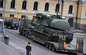Rosja rozmieszcza systemy obrony powietrznej na wschodzie Ukrainy
