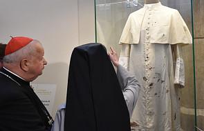 Sutanna z zamachu na Jana Pawła II trafiła do Sanktuarium
