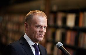 Tusk: Komorowski jest i, mam nadzieję, będzie dobrym prezydentem