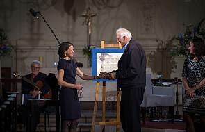Londyn: Jean Vanier odebrał nagrodę Templetona