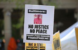 Policjanci z Baltimore formalnie oskarżeni o śmierć Afroamerykanina