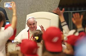 Dzieci więźniów z wizytą u papieża Franciszka