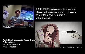 Ukryta kamera w klinice aborcyjnej [VIDEO]