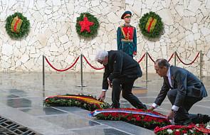 Szefowie MSZ Rosji i Niemiec oddali hołd ofiarom wojny