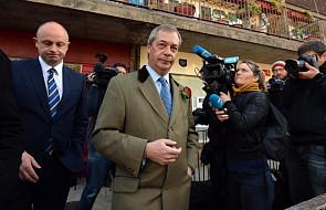 Szef UKIP Nigel Farage rezygnuje ze stanowiska