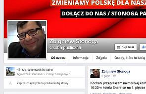 Facebook zablokował stronę Zbigniewa S.
