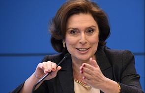 Kidawa-Błońska kandydatką na marszałka Sejmu